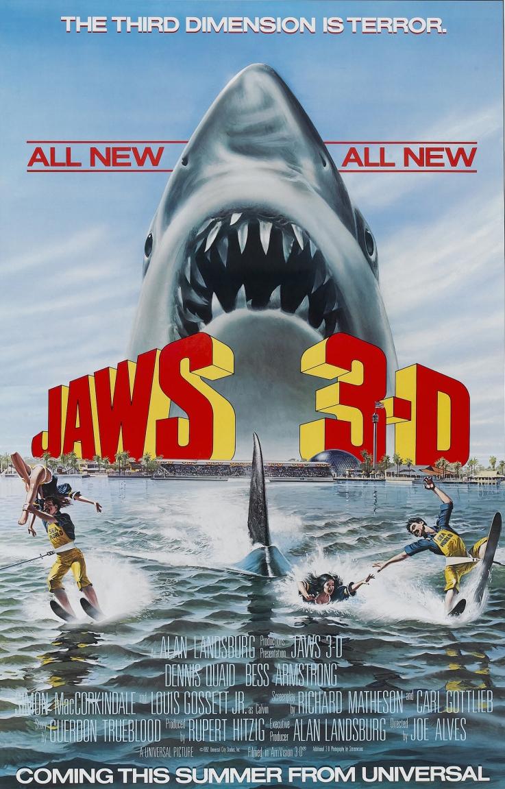 Jaws 3-D (1983) จอว์ส 3D